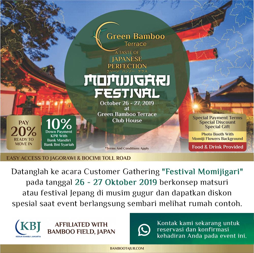 Informasi Acara Momijigari Festival
