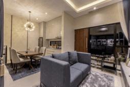 Desain Dapur dan Ruang Tamu Minimalis