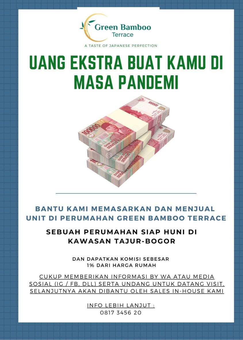 Uang ekstra di masa pandemi