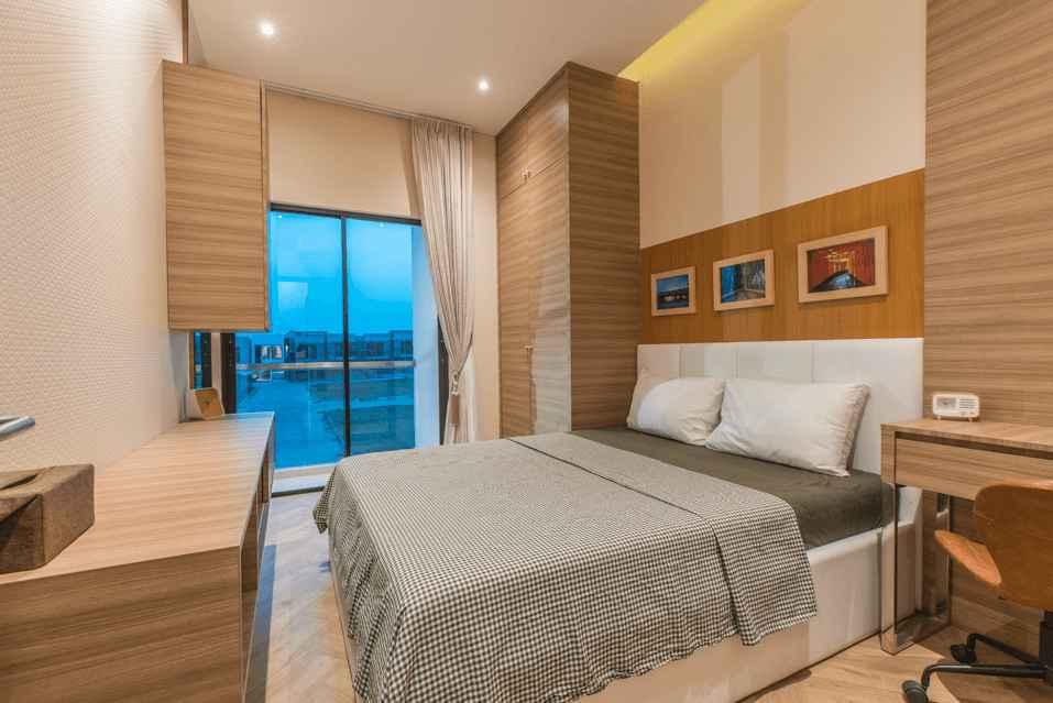 Ruang Tidur Utama Konsep Minimalis